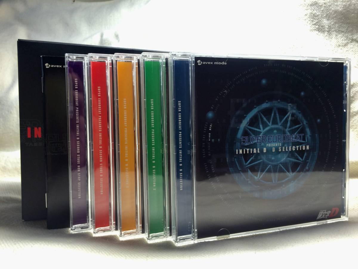 ☆初回限定盤 SUPER EUROBEAT PRESENTS INITIAL D MILLENNIUM BOX 頭文字 イニシャルD ミレニアムボックス/CD-BOXセット アルバム☆_画像5