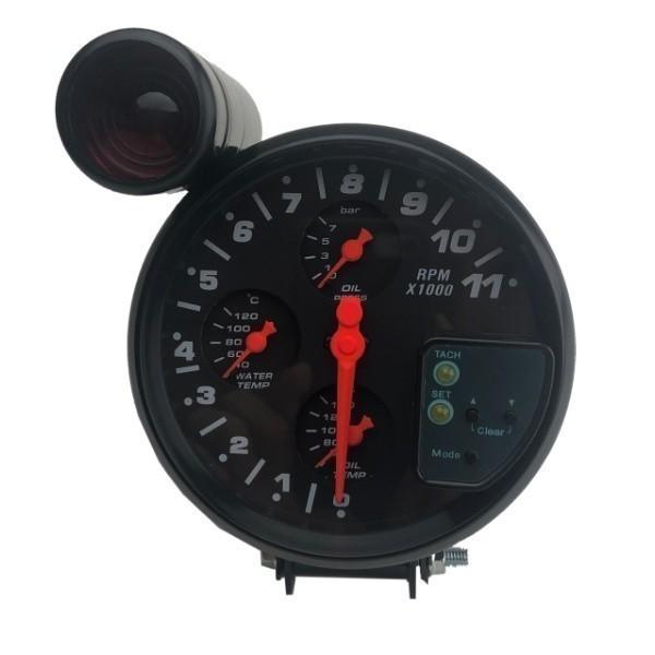 汎用 マルチメーター タコメーター 水温計 油温計 油圧計 追加メーター 86 ZN6 シビック S2000 RX-8 スイフトスポーツ ロードスター_画像3