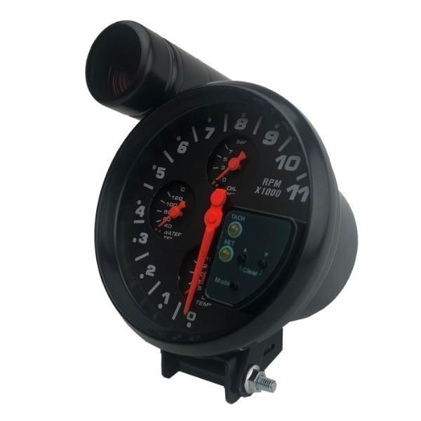 汎用 マルチメーター タコメーター 水温計 油温計 油圧計 追加メーター 86 ZN6 シビック S2000 RX-8 スイフトスポーツ ロードスター_画像2