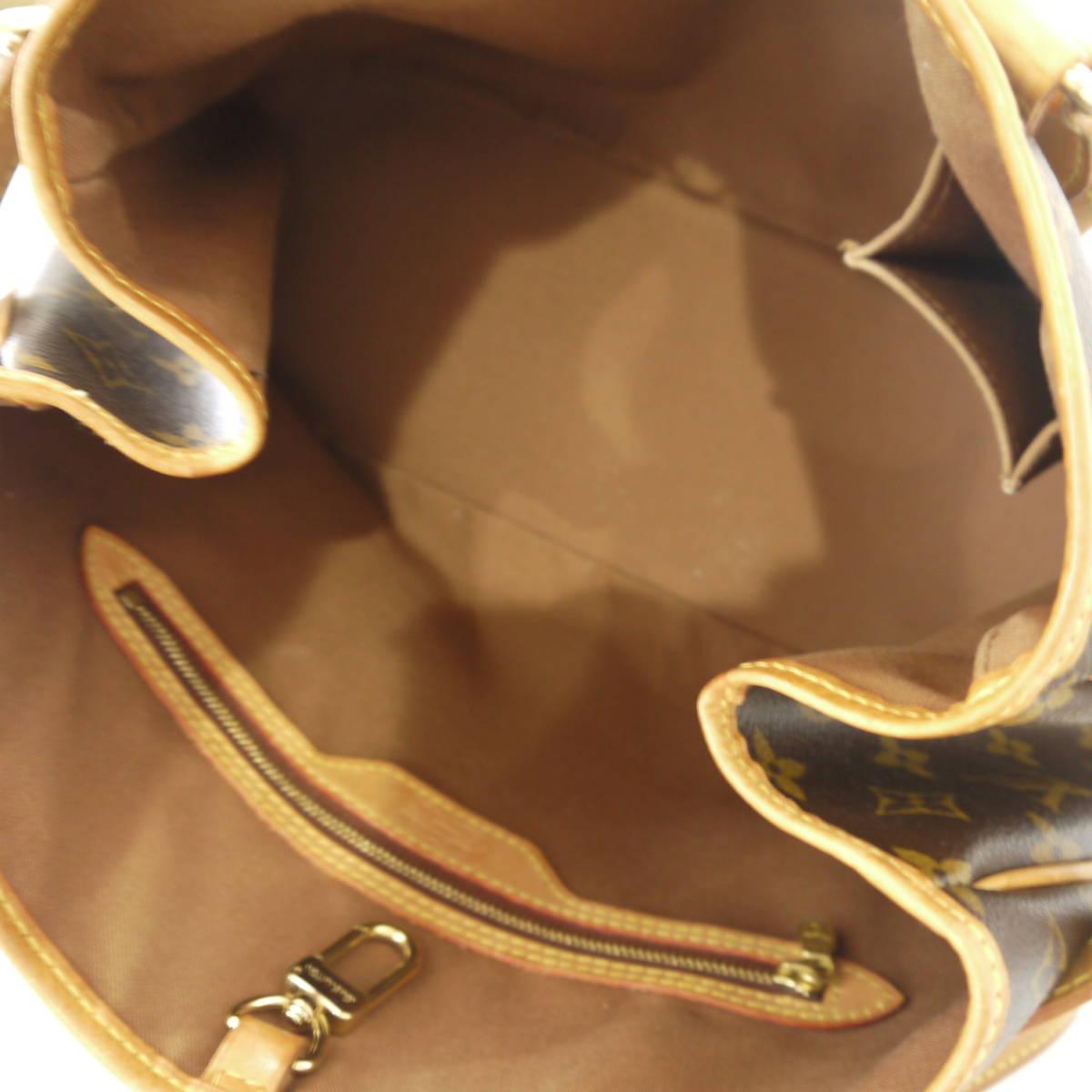 早い者勝ち!! LOUIS VUITTON ルイヴィトン モノグラム バティニョール オリゾンタル ショルダーバッグ トートバッグ M51154_画像8