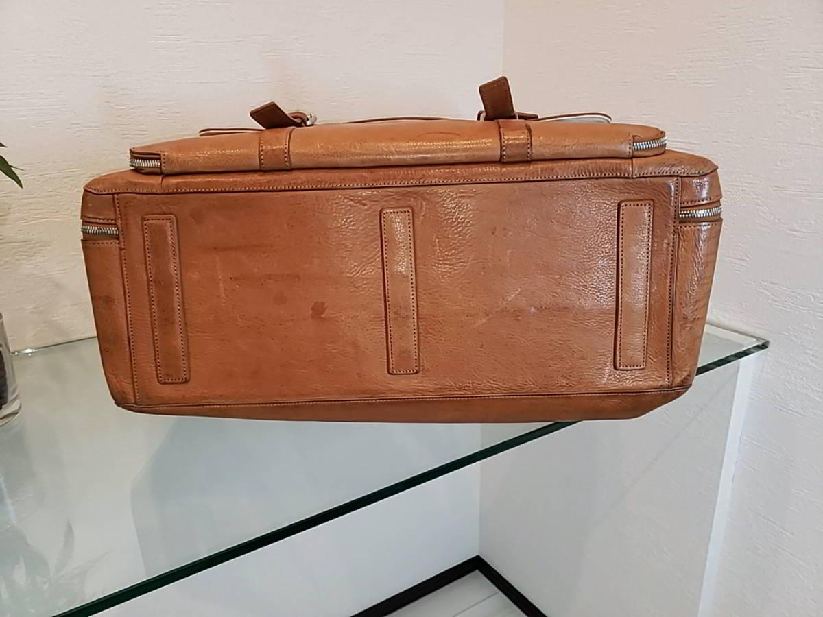 ダンヒル(DUNHILL)トラベルバッグ ボストンバッグ スーツケース_画像5