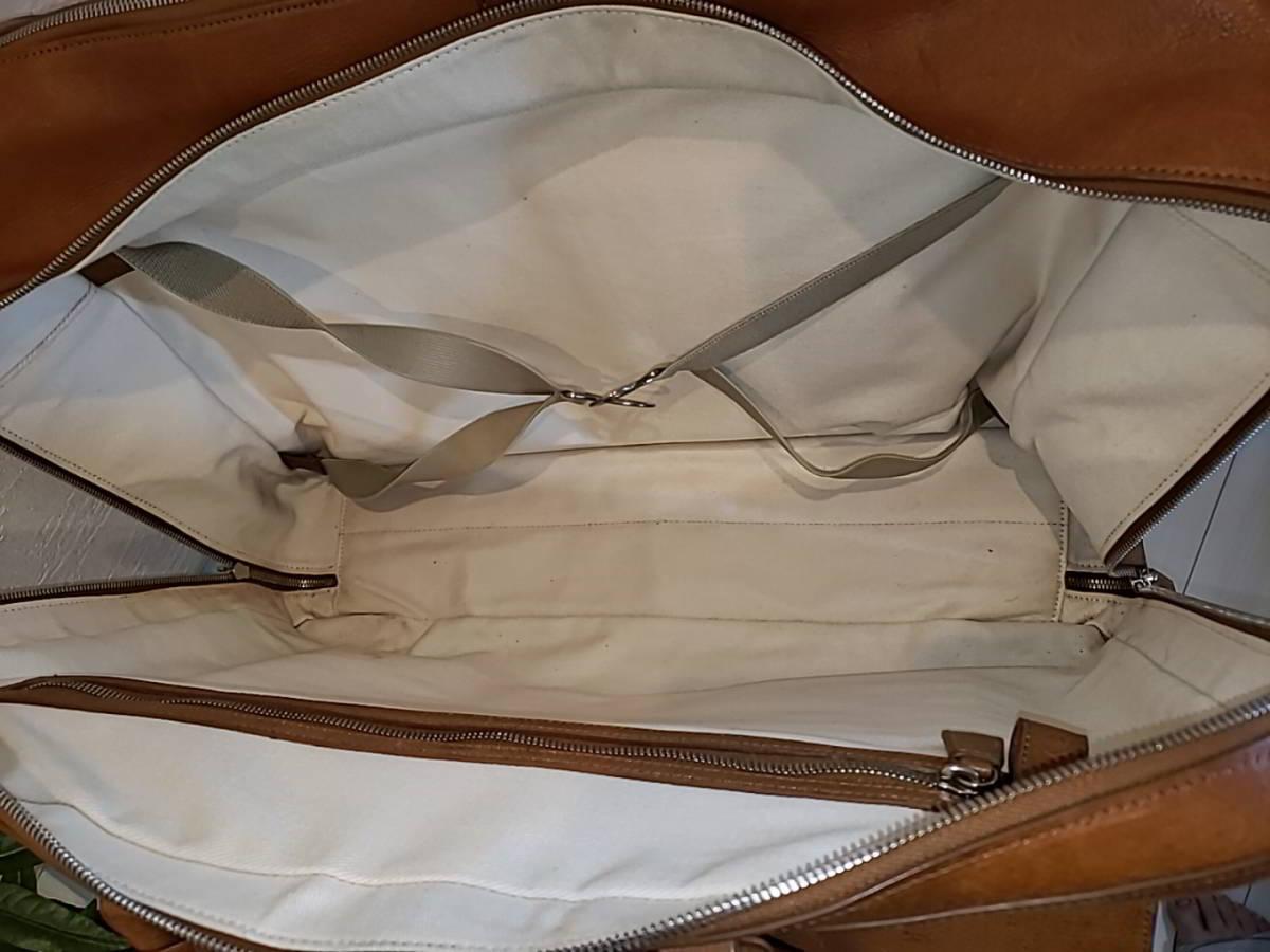 ダンヒル(DUNHILL)トラベルバッグ ボストンバッグ スーツケース_画像7