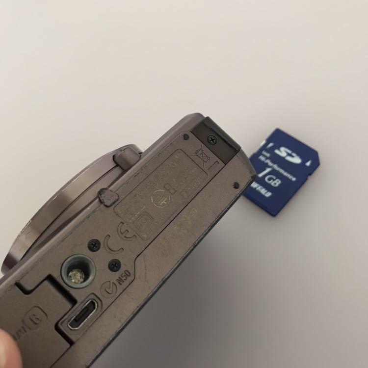 動作品 SONY ソニー デジタルカメラ Cyber-shot DSC-HX30V バッテリーなし。_画像5