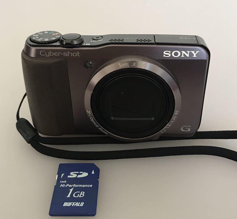 動作品 SONY ソニー デジタルカメラ Cyber-shot DSC-HX30V バッテリーなし。_画像3