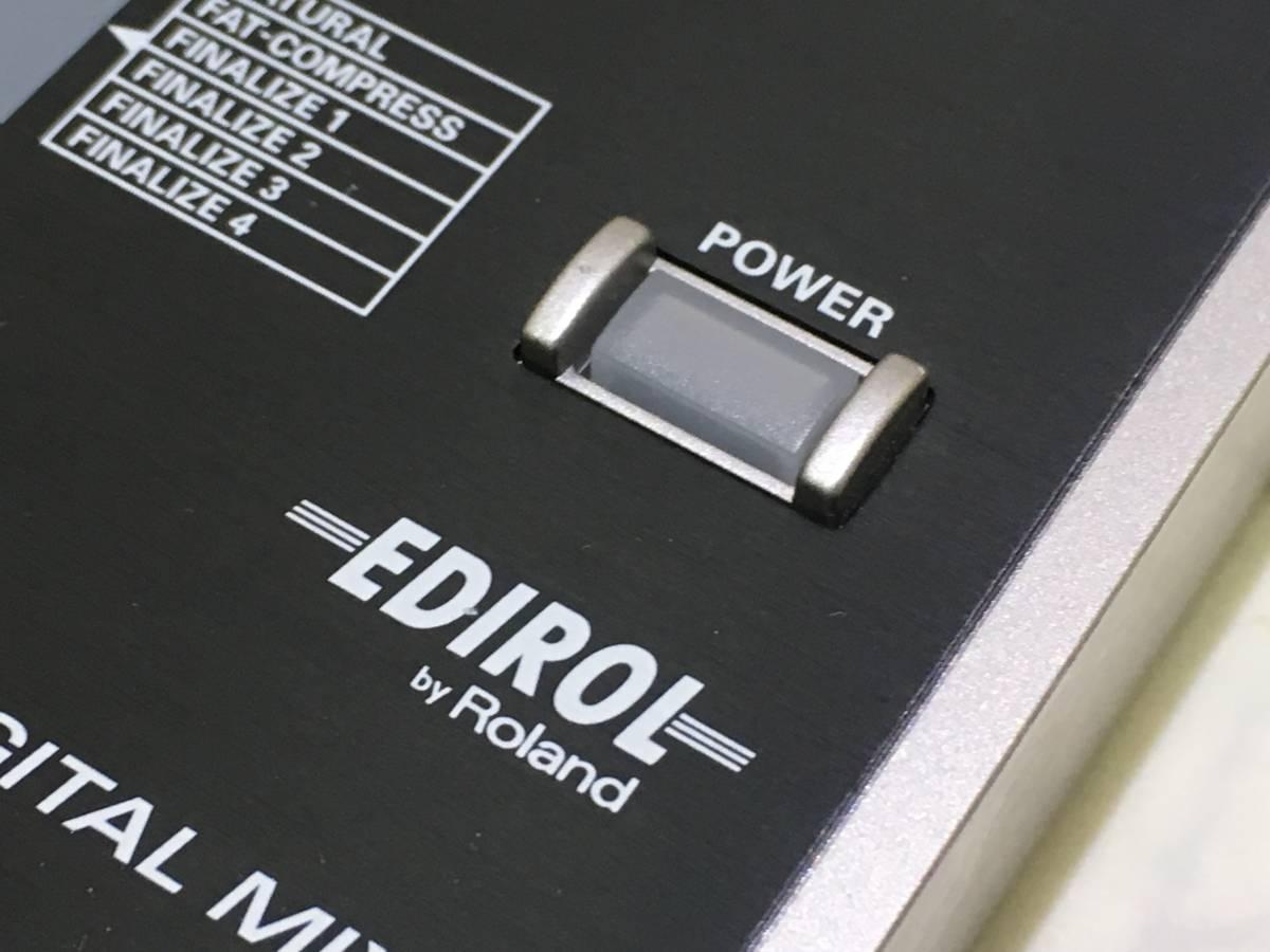 【h-011 ジャンク】 Roland/ローランド EDIROL 10CH DIGITAL MIXER M-10DX _画像3