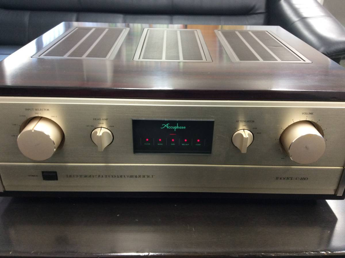 ■Accuphase アキュフェーズ コントロール/プリアンプ C-280 現状品■