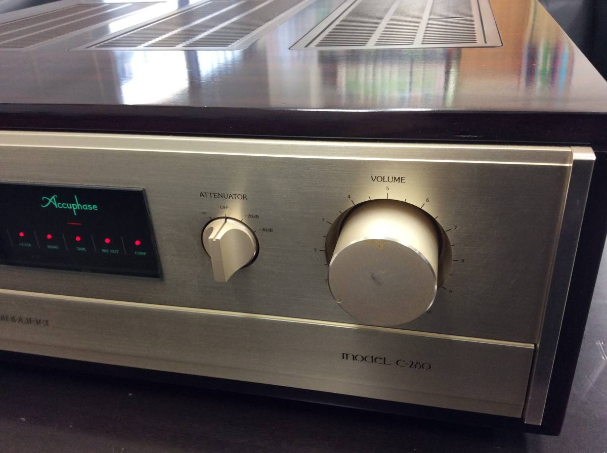 ■Accuphase アキュフェーズ コントロール/プリアンプ C-280 現状品■_画像3