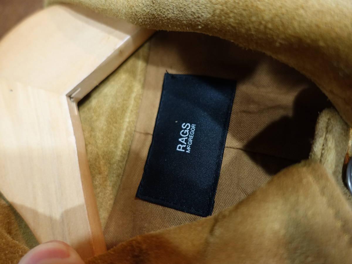 ラグスマックレガー スエード レザー ジャケット サイズM 定価145000円+消費税 6005_画像4