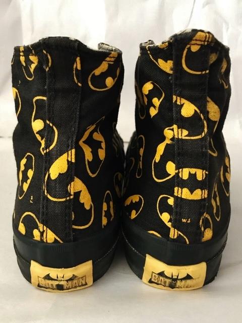 別注 コラボ 限定 1980's USA製 アメリカ製 コンバース バットマン オールスター converse BATMAN ビンテージ チャックテイラー スニーカー_画像5