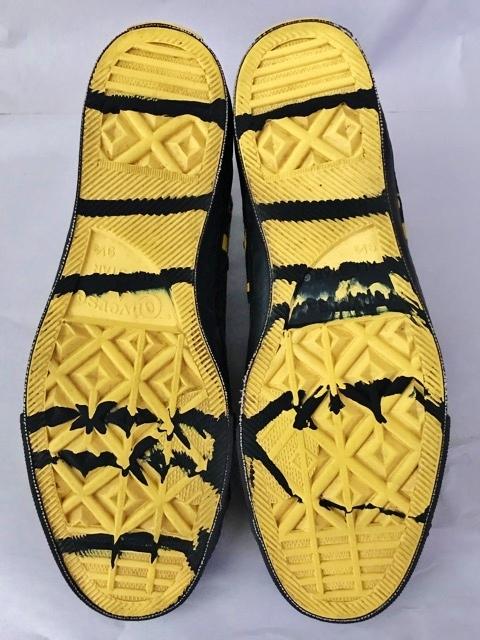 別注 コラボ 限定 1980's USA製 アメリカ製 コンバース バットマン オールスター converse BATMAN ビンテージ チャックテイラー スニーカー_画像6