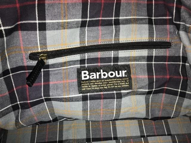 高級 Barbour バブアー 本革 オールレザー レザーバッグ チェック ショルダーバッグ ビジネスバッグ イギリス 英国王室愛用 革 レザー_画像3