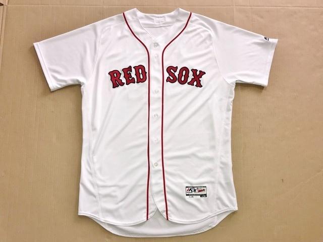 2017 MLB メジャーリーグ MLB公認証明付 実使用 本物 マルコ ヘルナンデス ボストン レッドソックス Redsox ユニフォーム 上原浩治 同僚