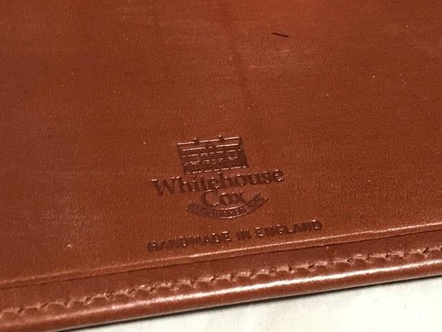 新品 ホワイトハウスコックス 長財布 ブライドルレザー Whitehouse cox ビジネス 財布 イギリス製 ブライドルレザー 本革 ENGLAND 紳士 new_画像3