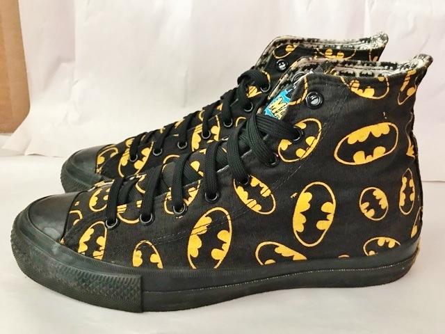 別注 コラボ 限定 1980's USA製 アメリカ製 コンバース バットマン オールスター converse BATMAN ビンテージ チャックテイラー スニーカー_画像2