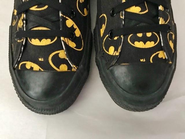 別注 コラボ 限定 1980's USA製 アメリカ製 コンバース バットマン オールスター converse BATMAN ビンテージ チャックテイラー スニーカー_画像10