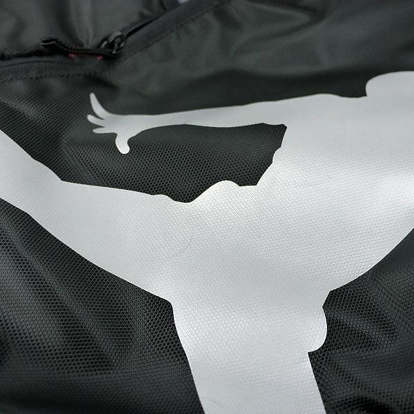 ★ 新品 ナイキ ジョーダン ジャンプマン ビッグロゴ リュックサック バックパック デイパック カバン 黒 灰色 NIKE JORDAN JUMPMAN_画像6