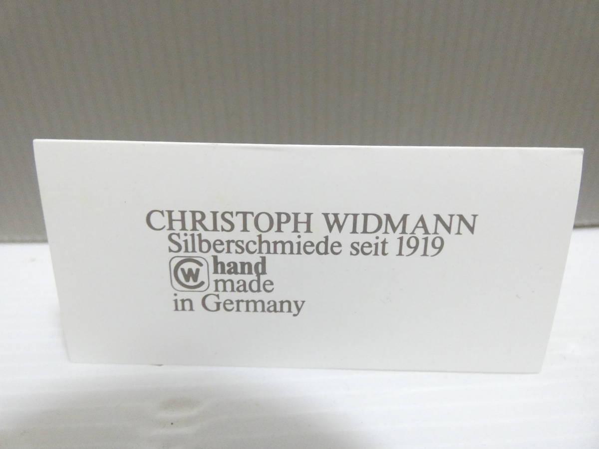 CHRISTOPH WIDMANN クリストフウッドマン 銀製 フォーク 6本セット_画像8