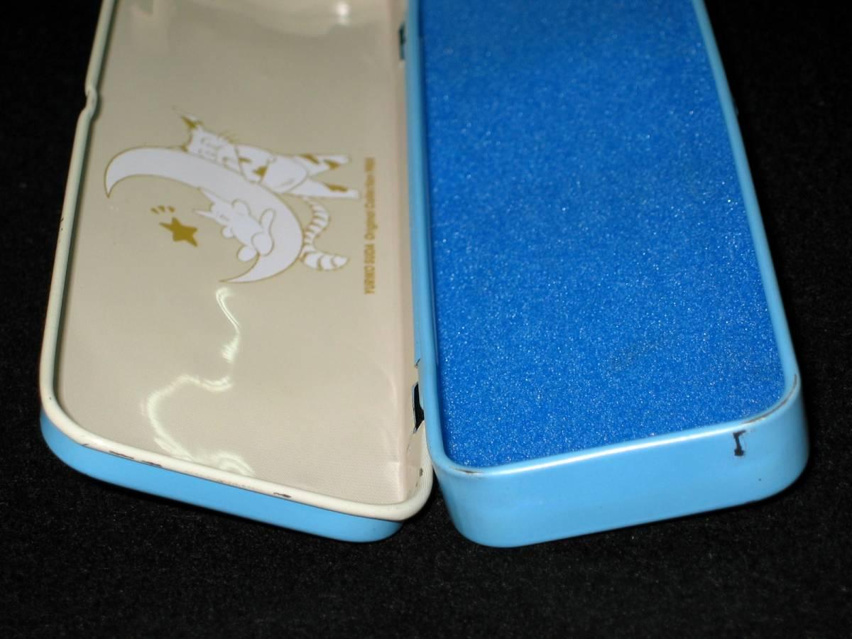 当時物 昭和レトロ 80年代 巣田祐里子 YURIKO SUDA Original Collection 1988 アニパロ movic カンペン 缶ペン 筆入れ 筆箱 文房具 USED_画像5