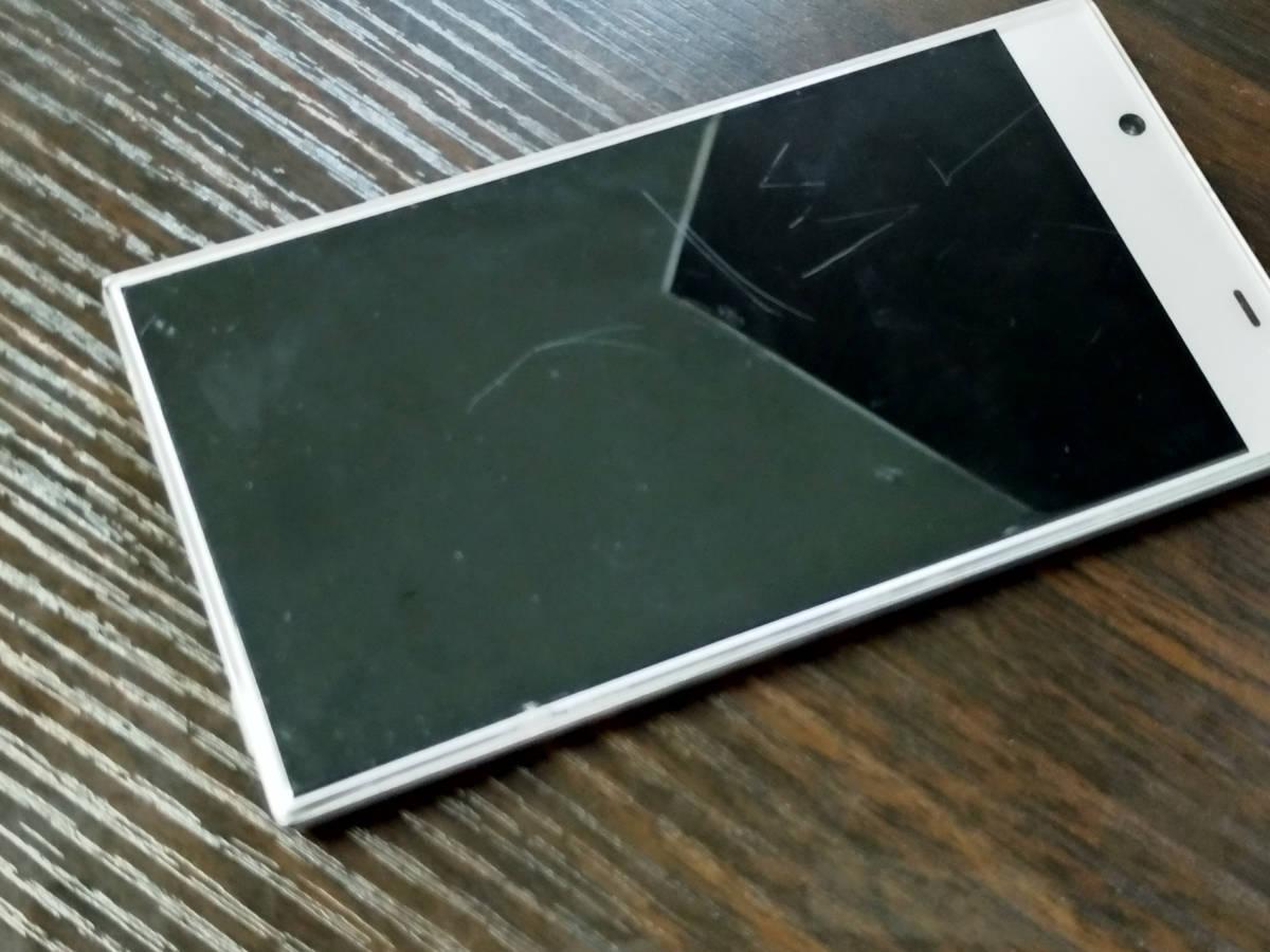 AQUOS CRYSTAL Y ホワイト 402SH 16GB Y!mobile ジャンク 本体_画像3
