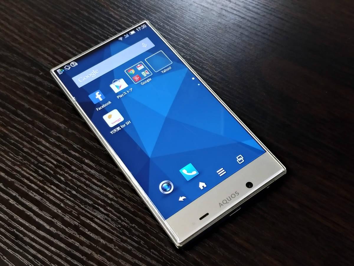 AQUOS CRYSTAL Y ホワイト 402SH 16GB Y!mobile ジャンク 本体