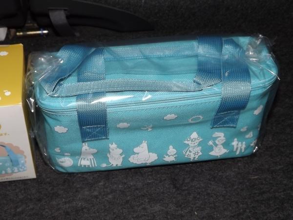 ♪♪ムーミン 保冷バッグ付きランチボックス 1種類のみ プライズ景品♪♪_画像2