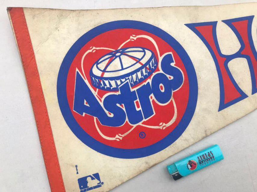 4★ビンテージ/1970s/ヒューストン アストロズ/ペナント/Houston Astros/大リーグ/メジャーリーグ/USA★_画像1