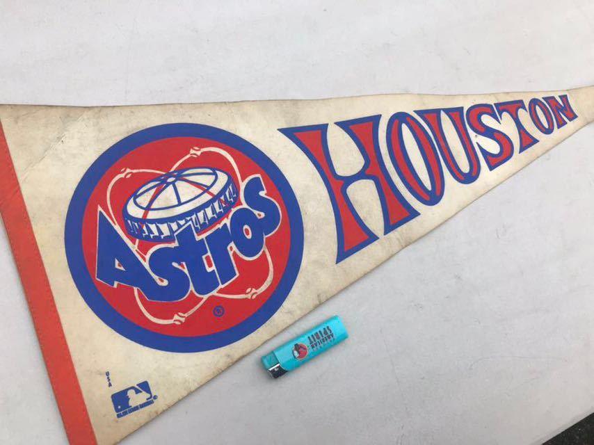 4★ビンテージ/1970s/ヒューストン アストロズ/ペナント/Houston Astros/大リーグ/メジャーリーグ/USA★_画像2