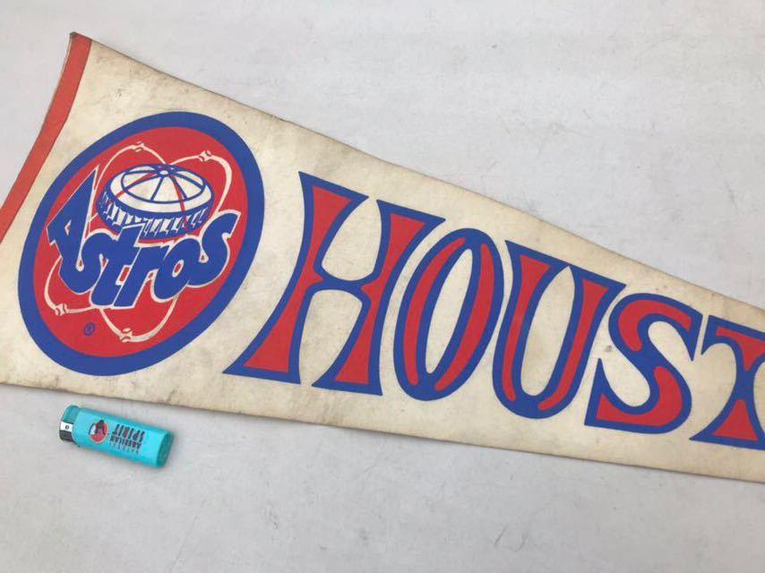 4★ビンテージ/1970s/ヒューストン アストロズ/ペナント/Houston Astros/大リーグ/メジャーリーグ/USA★_画像5