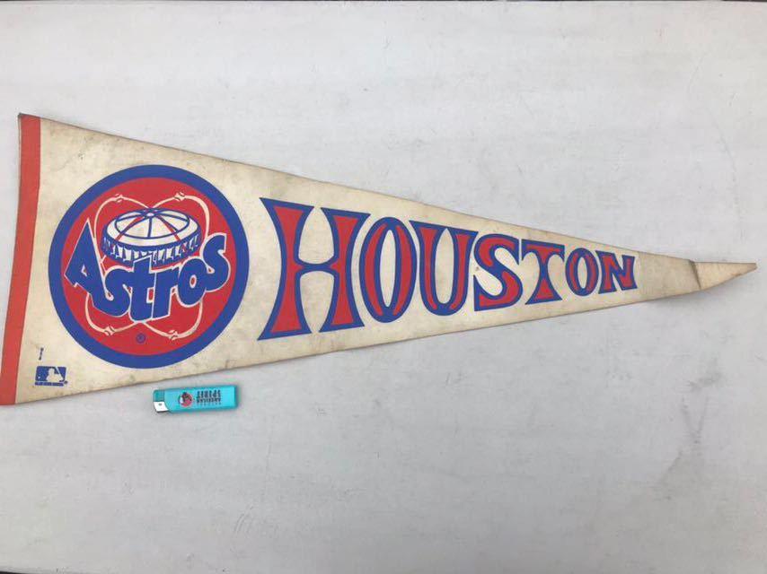 4★ビンテージ/1970s/ヒューストン アストロズ/ペナント/Houston Astros/大リーグ/メジャーリーグ/USA★_画像3
