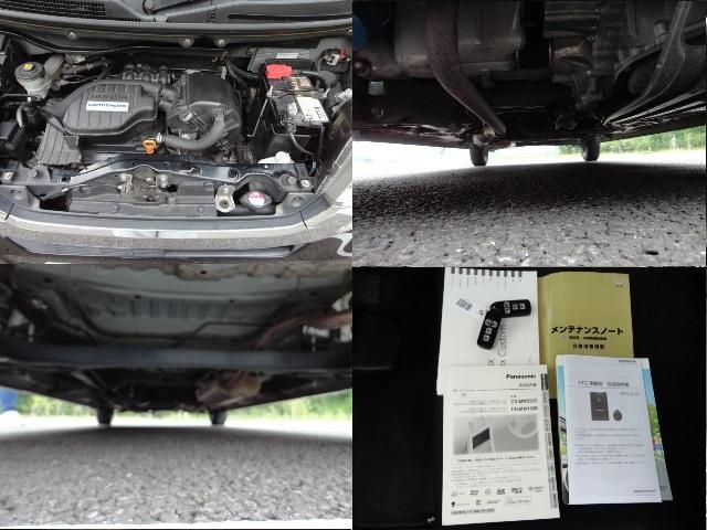 ワンオーナー車 H25年式 N-BOX カスタムSSパッケージ ・ 両側パワスラ・ナビ・フルセグTV・バックカメラ・ETC 車検R2年8月まで_画像9