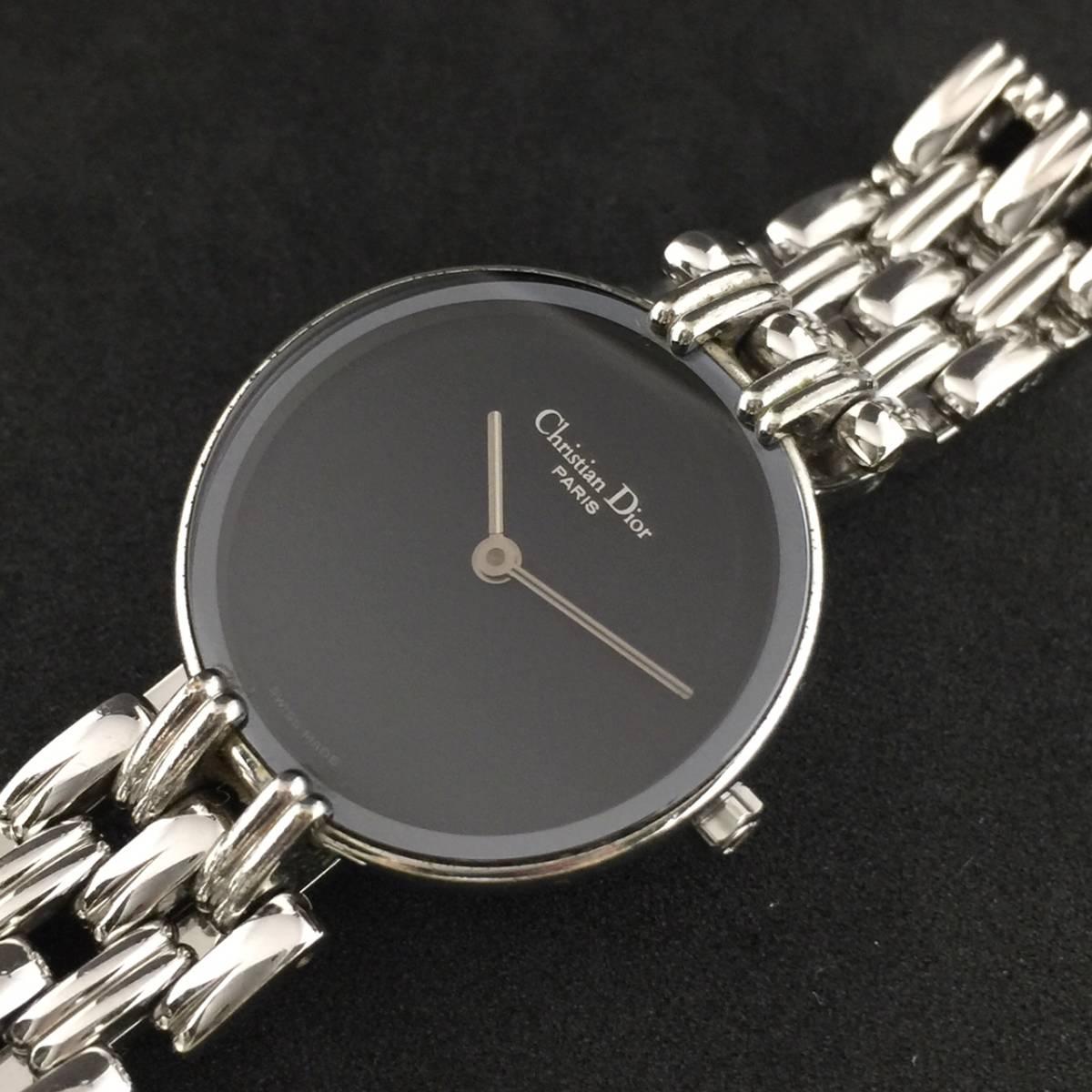 【1円~】Christian Dior クリスチャン ディオール 腕時計 レディース D44-120 Bagheera バギラ 可動品