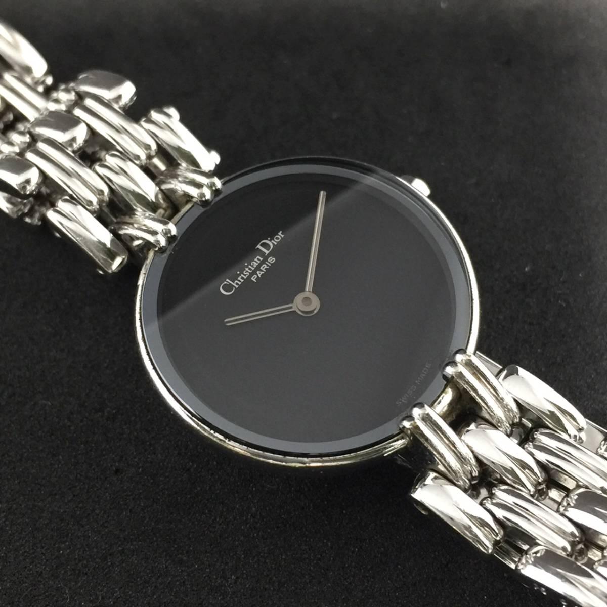 【1円~】Christian Dior クリスチャン ディオール 腕時計 レディース D44-120 Bagheera バギラ 可動品_画像2