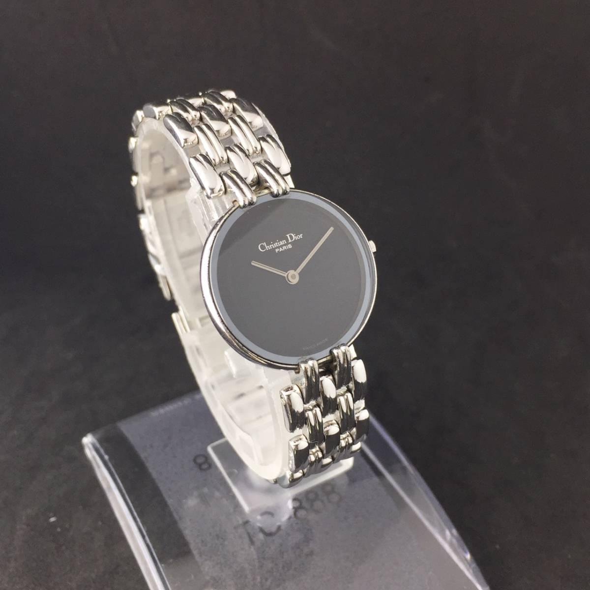 【1円~】Christian Dior クリスチャン ディオール 腕時計 レディース D44-120 Bagheera バギラ 可動品_画像3