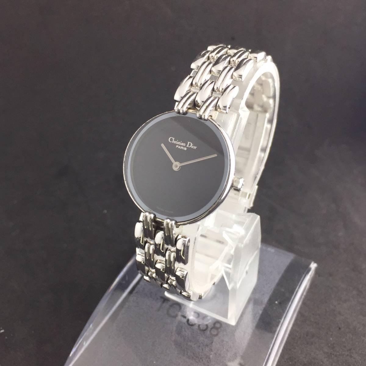 【1円~】Christian Dior クリスチャン ディオール 腕時計 レディース D44-120 Bagheera バギラ 可動品_画像4