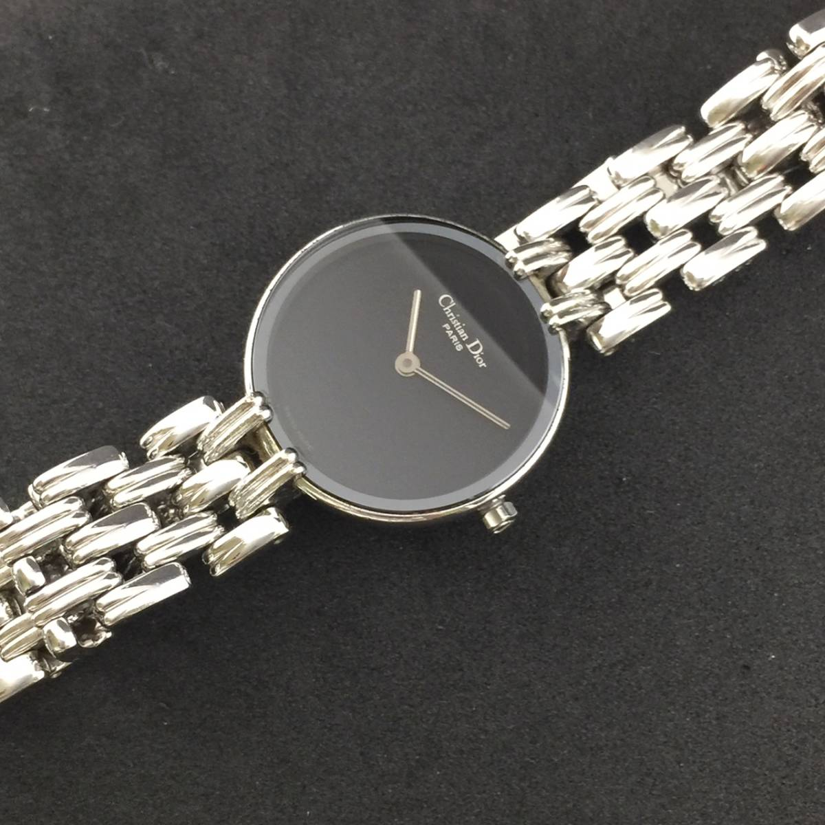 【1円~】Christian Dior クリスチャン ディオール 腕時計 レディース D44-120 Bagheera バギラ 可動品_画像6