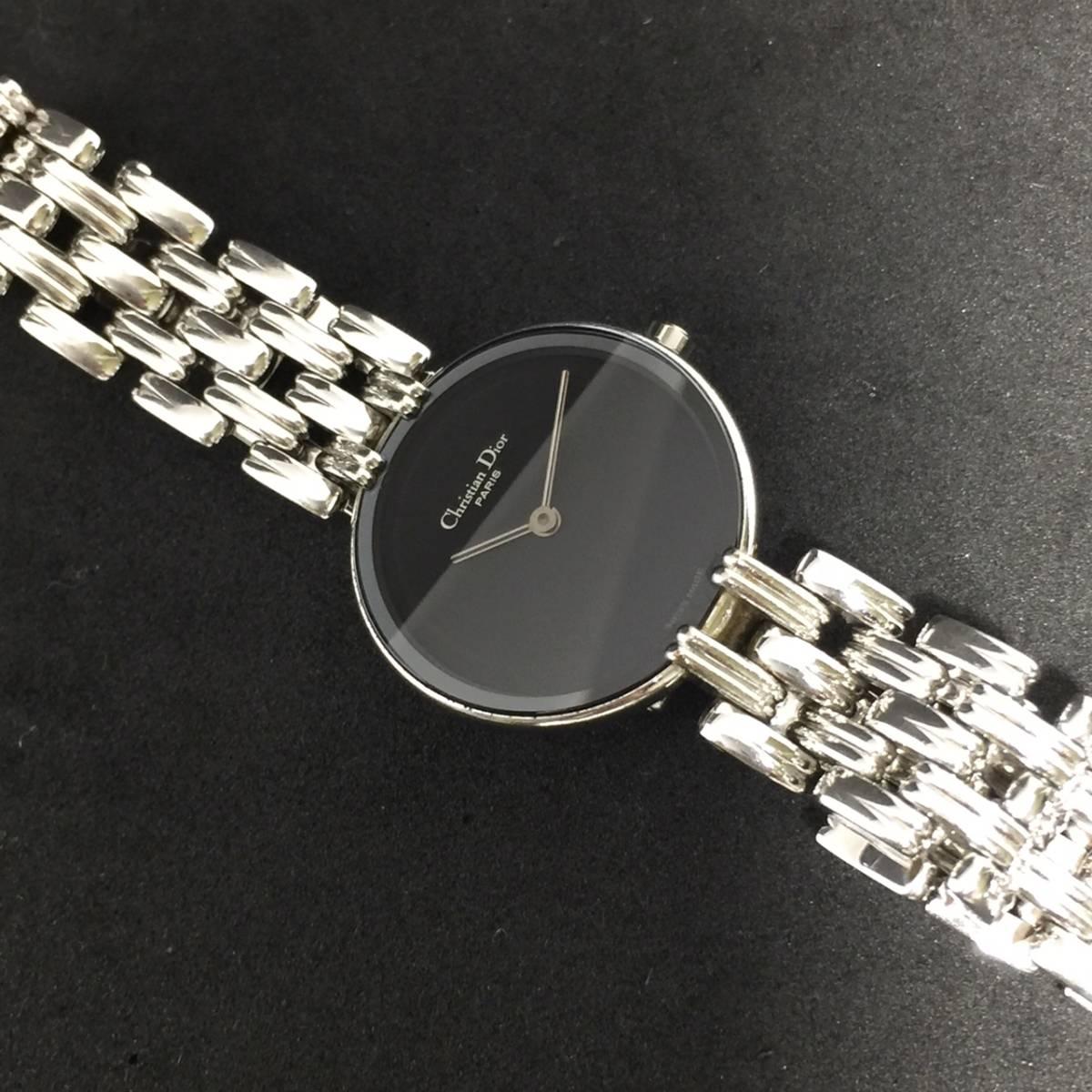【1円~】Christian Dior クリスチャン ディオール 腕時計 レディース D44-120 Bagheera バギラ 可動品_画像7