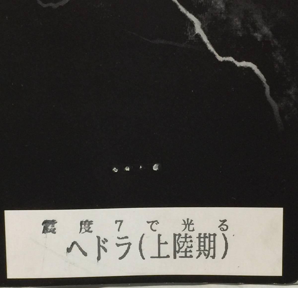 【希少品】CCP AMC 震度7で光るヘドラ上陸期 初代ブラックver_画像6