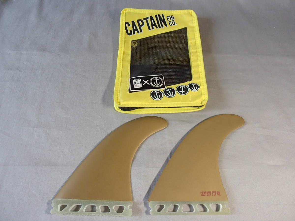 新品◆CAPTAIN FIN TWIN TYLER WARREN 549◆GOLD◇キャプテンフィン/ツインフィン/サーフボード/ファンボード