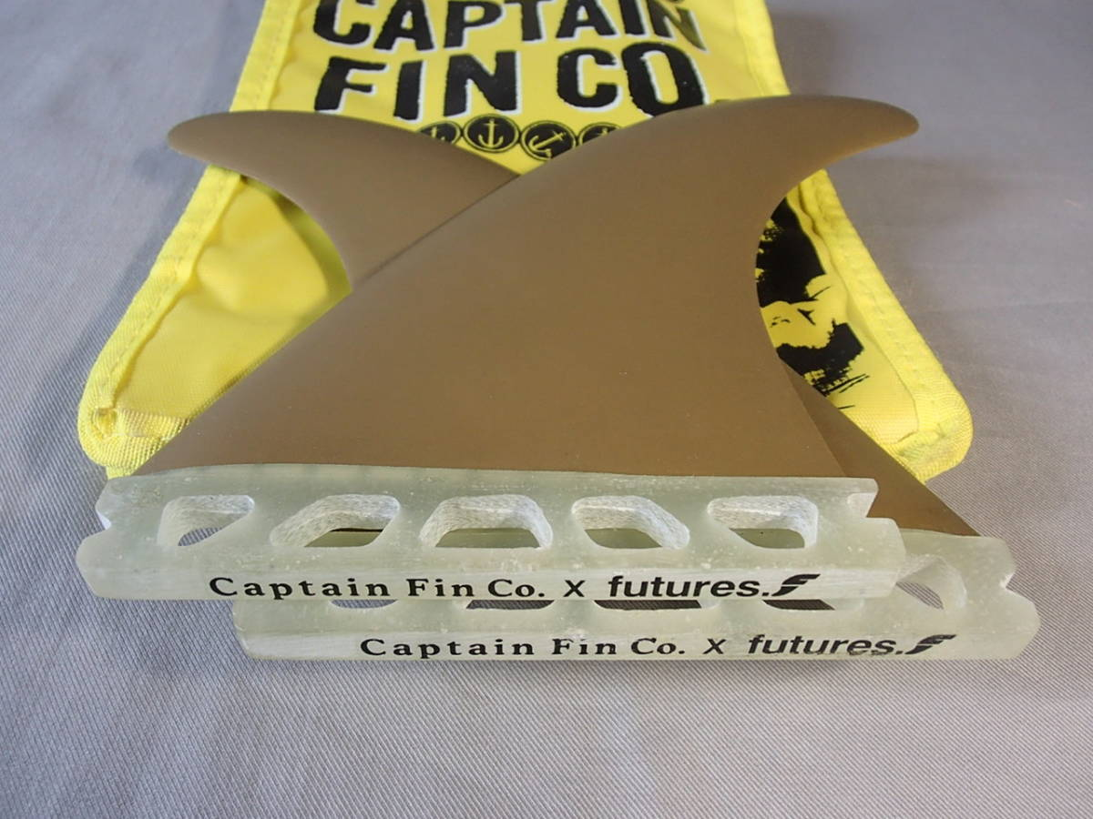 新品◆CAPTAIN FIN TWIN TYLER WARREN 549◆GOLD◇キャプテンフィン/ツインフィン/サーフボード/ファンボード_画像4