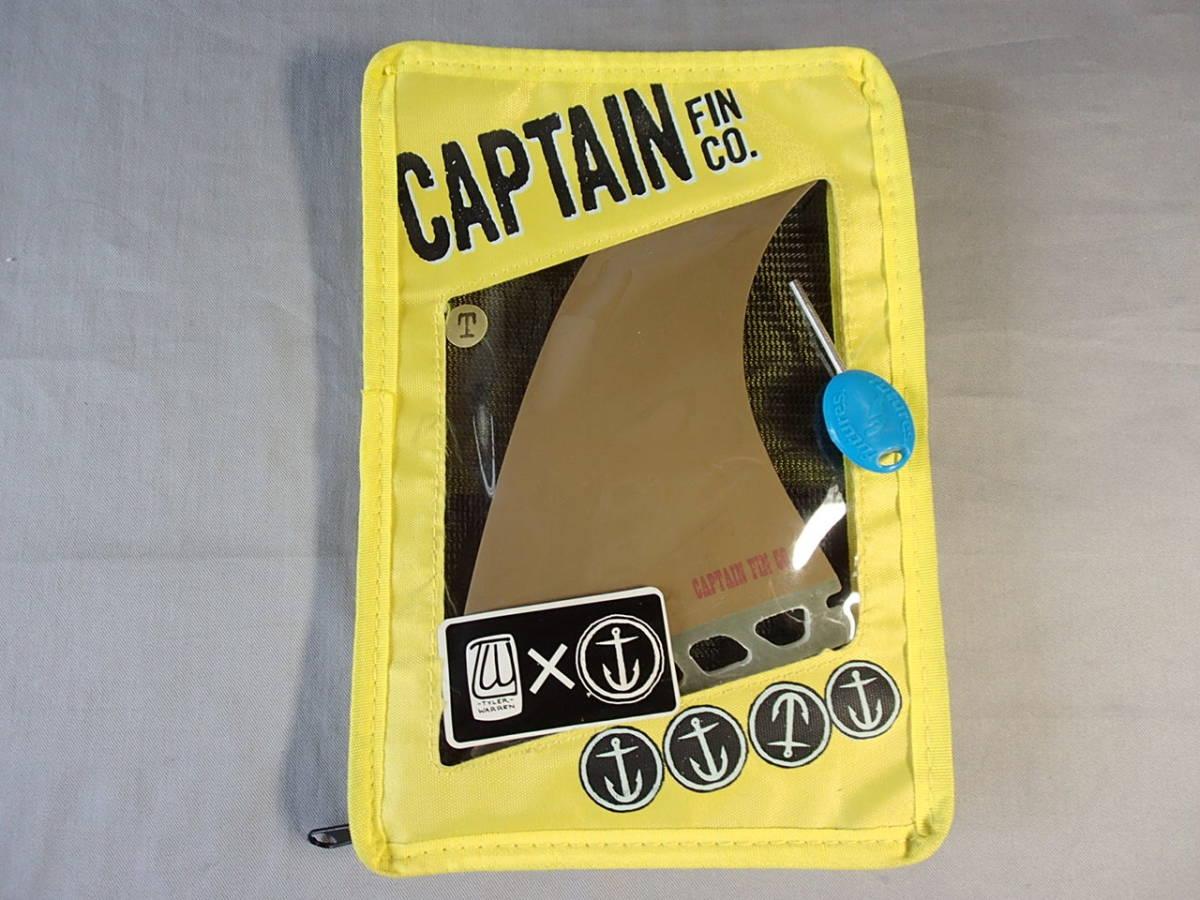 新品◆CAPTAIN FIN TWIN TYLER WARREN 549◆GOLD◇キャプテンフィン/ツインフィン/サーフボード/ファンボード_画像5