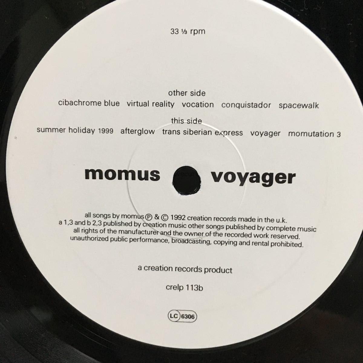 LP【ネオアコ ギターポップ】momus voyager/creation カヒミカリィ el_画像4