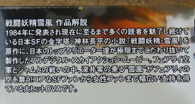 """プラッツ 1/144 戦闘妖精雪風 FFR-31MR/D スーパーシルフ""""雪風""""_画像4"""