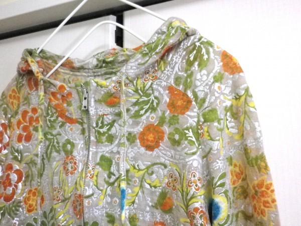 CHIYUKI 杉本ちゆき パーカー 可愛い花柄 さらさら ラメ入 日本製 チユキ Y'sヨウジヤマモト 舞台衣装/ac_画像2