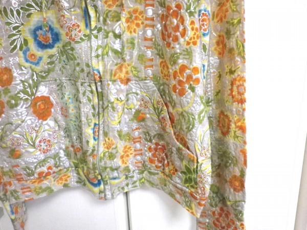 CHIYUKI 杉本ちゆき パーカー 可愛い花柄 さらさら ラメ入 日本製 チユキ Y'sヨウジヤマモト 舞台衣装/ac_画像3