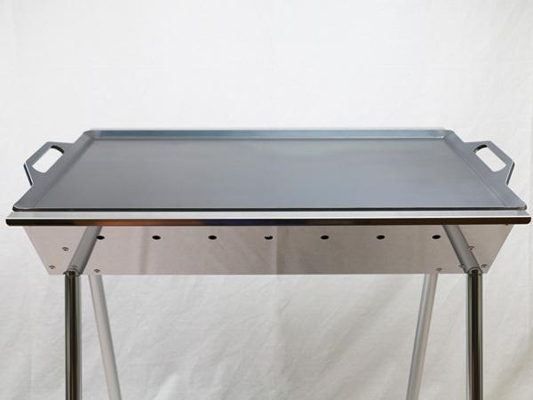 ユニフレーム UFタフグリル SUS-600 対応 グリルプレート 板厚6.0mm UN60-18_画像4