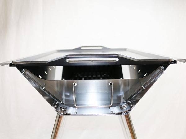ユニフレーム UFタフグリル SUS-600 対応 グリルプレート 板厚6.0mm UN60-18_画像6