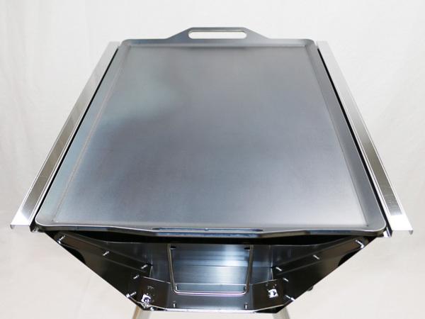 ユニフレーム UFタフグリル SUS-600 対応 グリルプレート 板厚9.0mm UN90-18_画像5