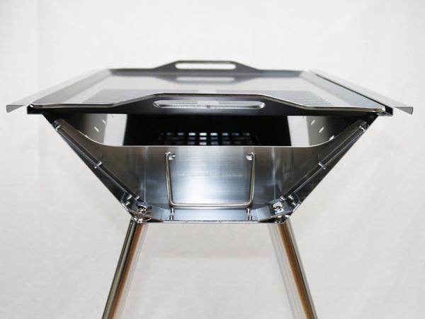 ユニフレーム UFタフグリル SUS-600 対応 グリルプレート 板厚4.5mm UN45-20_画像6