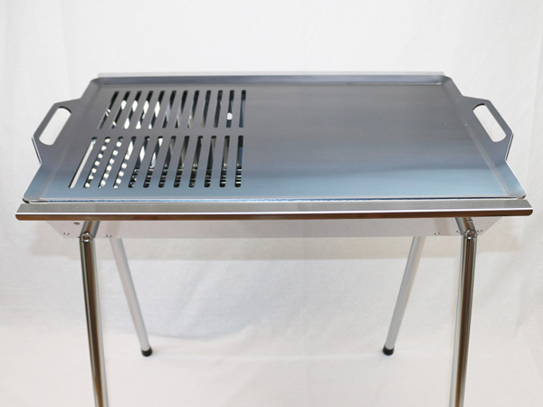 ユニフレーム UFタフグリル SUS-600 対応 グリルプレート 板厚6.0mm UN60-20_画像4