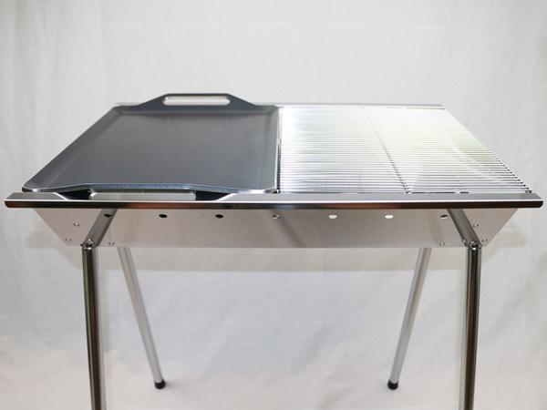 ユニフレーム UFタフグリル SUS-600 対応 グリルプレート 板厚9.0mm UN90-19_画像4